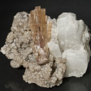Orange, Pink Tourmaline, Beryllonite, Lepidolite