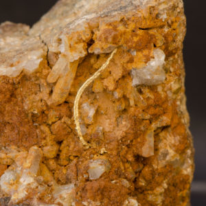 Gold wire on Quartz, Peru - Schwartz Fine Minerals