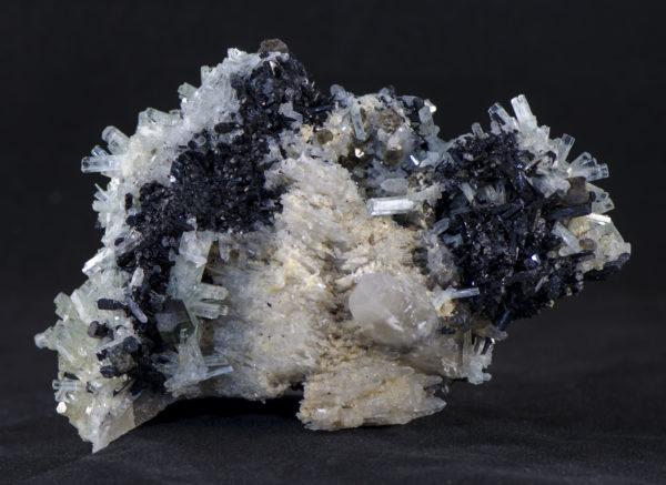 Large Aquamarine Schorl Fluorite